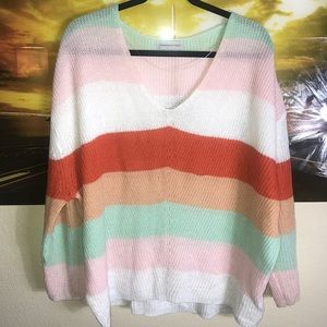 URBAN OUTFITTERS - Scoop Neck Sweater Sz S